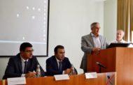 Министр финансов КЧР Рустам Эльканов принял участие в конференции «Лидеры учат будущих лидеров»