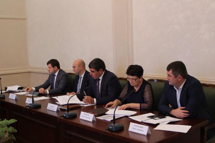 Совместное совещание Правительства Карачаево-Черкесии и Межрегионального управления Росфинмониторинга по СКФО