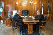 Вопрос формирования проекта бюджета на 2019 год обсудил Глава республики с вице-премьером-министром финансов  КЧР Муратом Суюнчевым