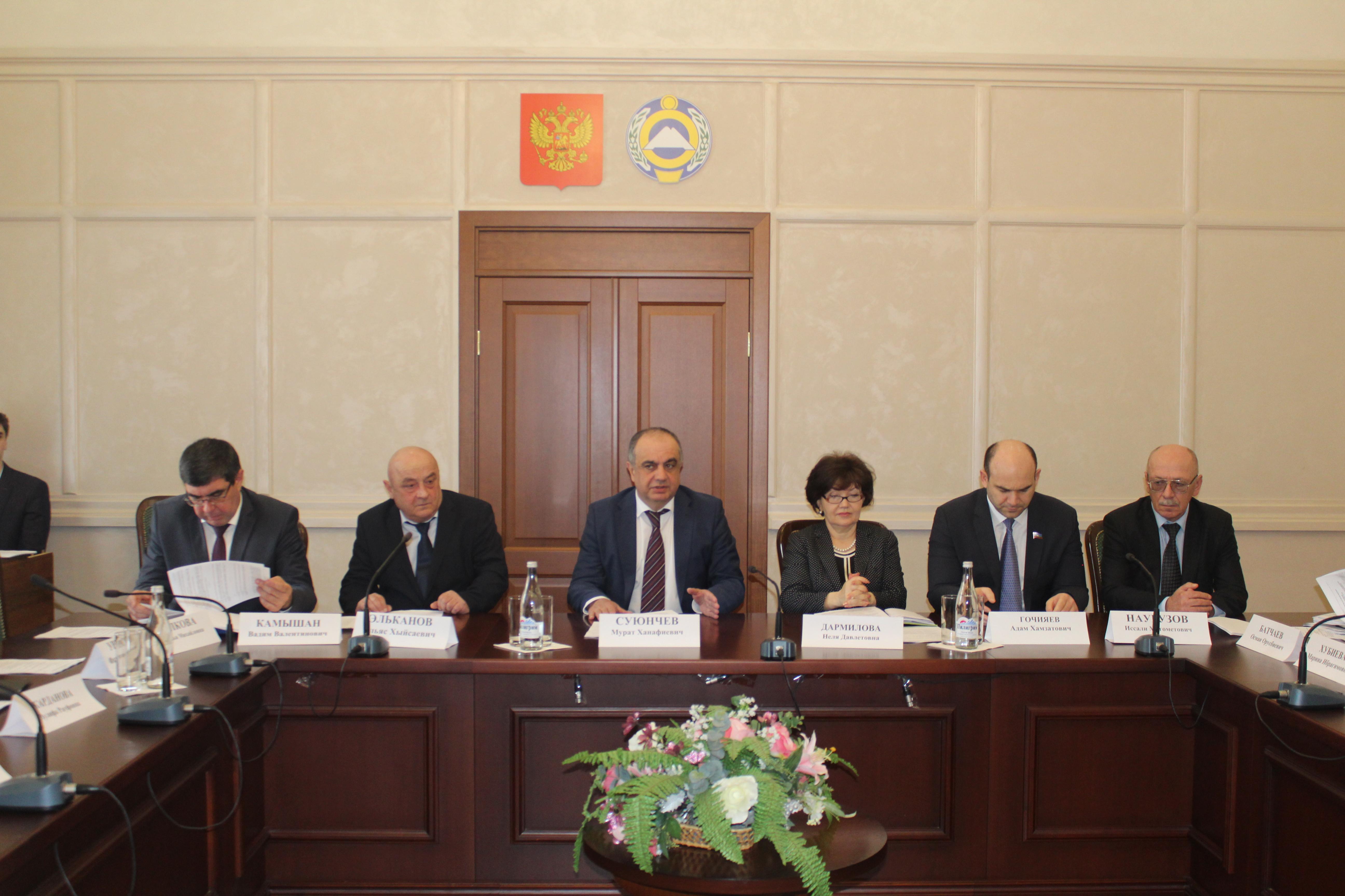Коллегия Министерства финансов КЧР по итогам работы за 2018 год и задачам на 2019 год