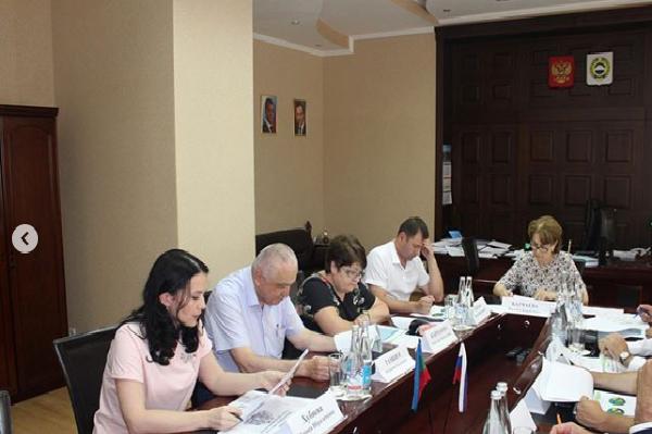 Заседание Общественного совета при Министерстве финансов