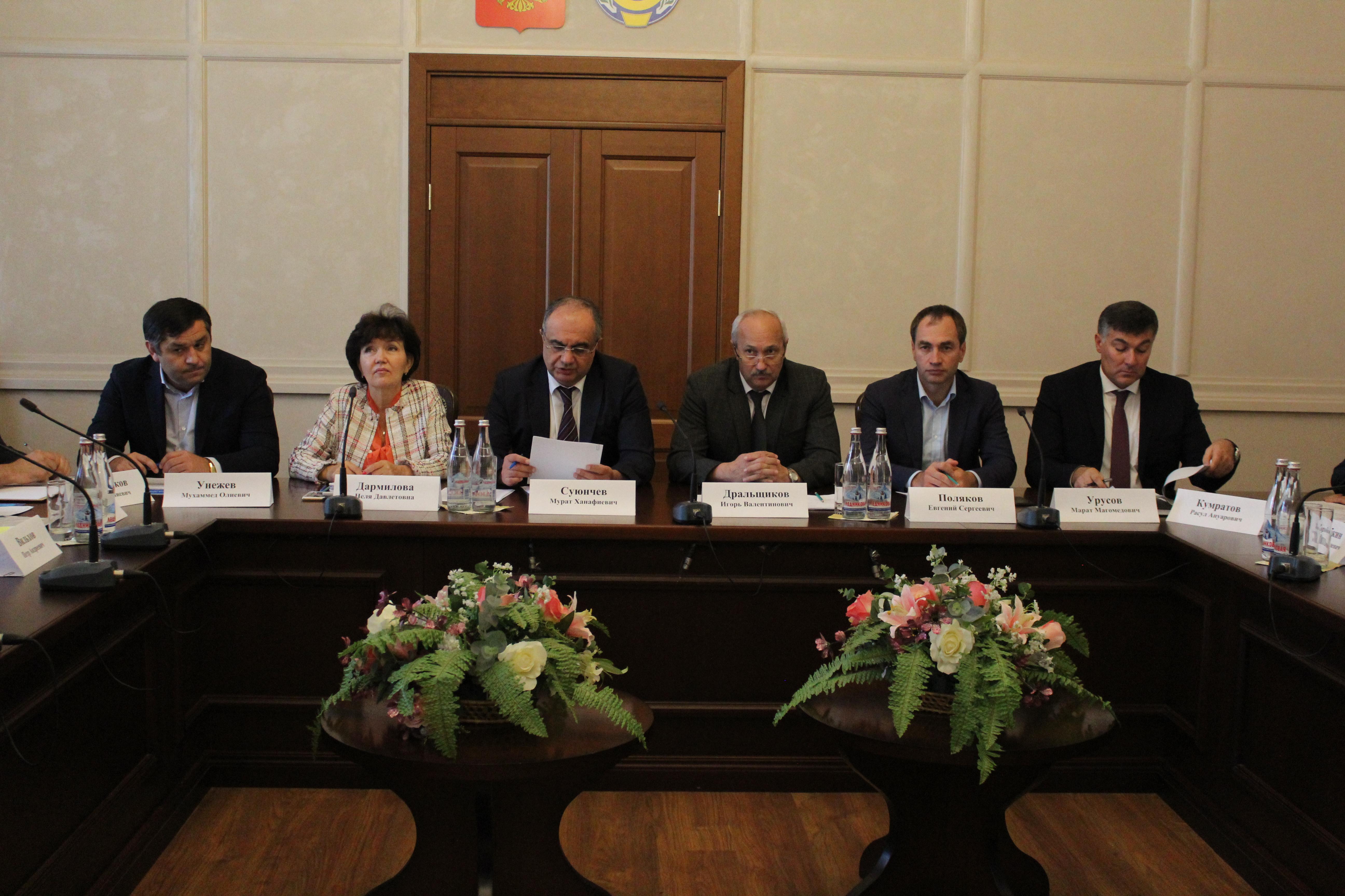 Заседание межведомственной Комиссии по мобилизации доходов в бюджет КЧР при Правительстве Карачаево-Черкесской Республики