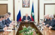 Состоялось рабочее совещание с членами Правительства республики