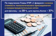 С 1 февраля снижена стоимость технологического присоединения к газораспределительным сетям для физлиц